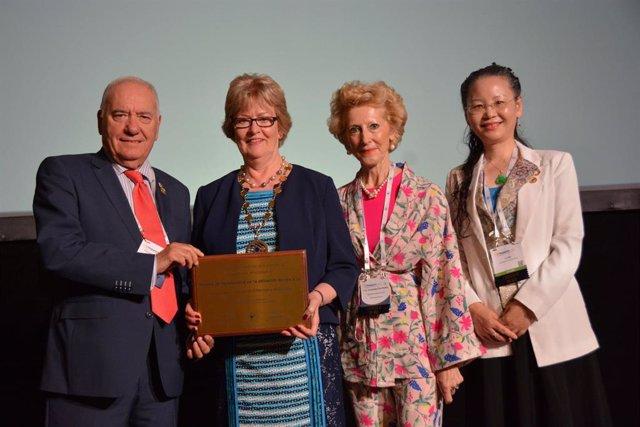 La Organización Colegial de Enfermería de España recibe el premio a la inclusividad del Consejo Internacional de Enfermeras en su categoría de oro