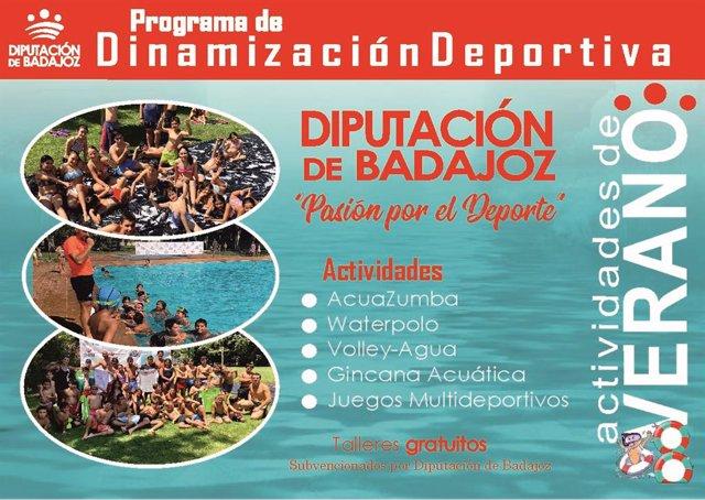 [Grupoextremadura] Plan De Dinamización Deportiva. Foto Cedida Por La Diputación
