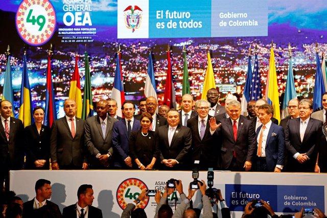 Jefes de Estado y de Gobierno en la 49ª Asamblea General de la OEA