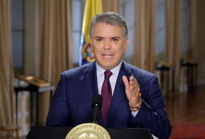 """Duque pide a la OEA crear un """"estatus de protección migratoria temporal"""" para los venezolanos en Latinoamérica"""