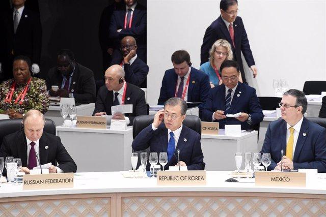 G20 summit in Osaka