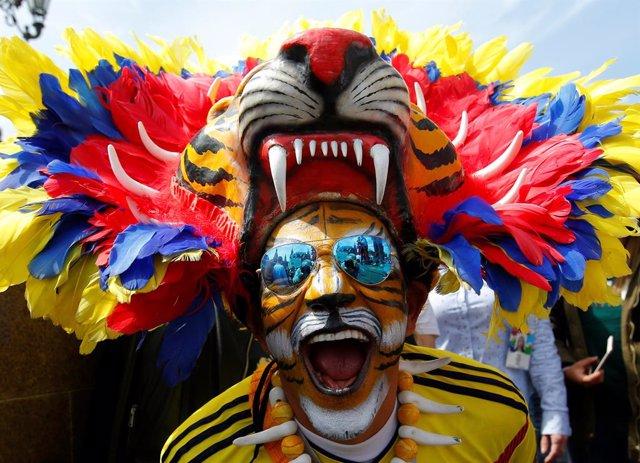 MOSCÚ, 16 jun (Reuters) -     Los hinchas de América Latina están conquistando los corazones de los moscovitas, contagiando a los residentes de la capital rusa con su amor por el fútbol cuando llegan al país para seguir a sus selecciones en la Copa de