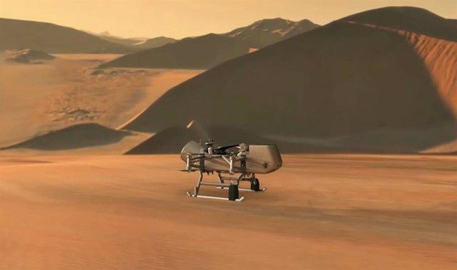 Missió Dragonfly a Tità
