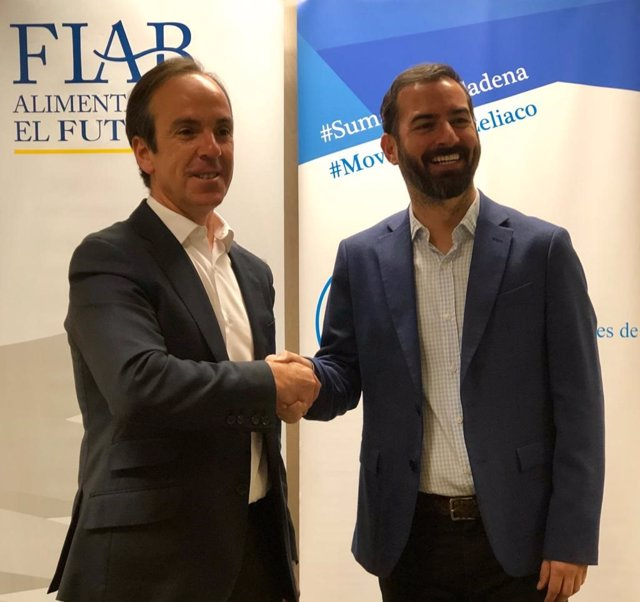 El director general de FIAB, Mauricio García de Quevedo, y el presidente de FACE, Jon Zabala Bezares