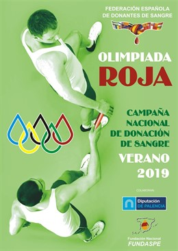 Cartel Olimpiada Roja 2019