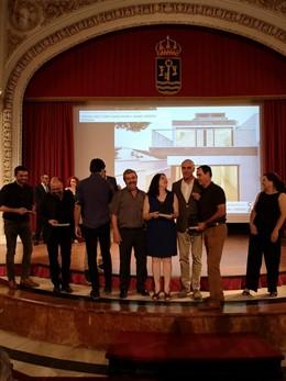 Entrega de premios del Colegio Oficial de Arquitectos de Sevilla