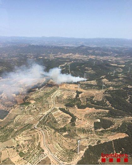 Bruselas activa el satélite Copérnico a petición de España por los incendios en Tarragona