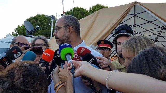 El conseller d'Interior de la Generalitat, Miquel Buch