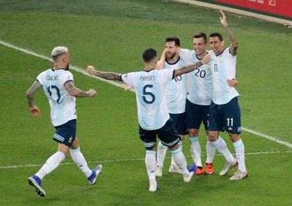 Argentina se cita con Brasil en semifinales tras superar a Venezuela sin apuros