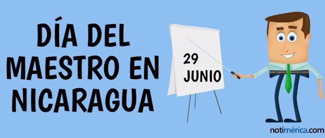 DÍA DEL MAESTRO EN NICARAGUA