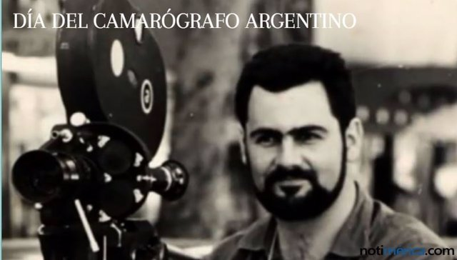 DÍA DEL CAMARÓGRAFO ARGENTINO