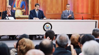 """El Gobierno de Venezuela rechaza las """"medidas ilegales"""" impuestas por EEUU al hijo de Nicolás Maduro"""