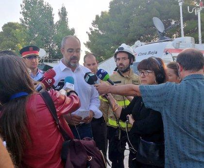 El fuego en La Ribera d'Ebre (Tarragona), camino de estabilizarse