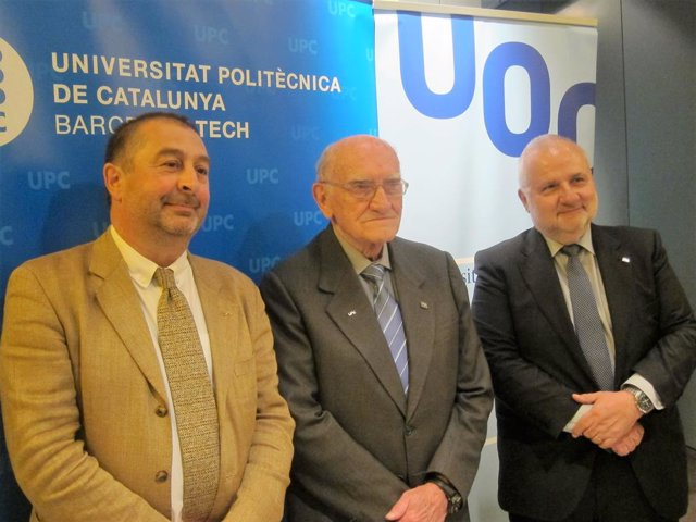 Francesc Torres (UPC), Gabriel Ferraté i Josep A.Planell