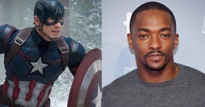 Así sería Anthony Mackie como el nuevo Capitán América... con homenaje a Steve Rogers