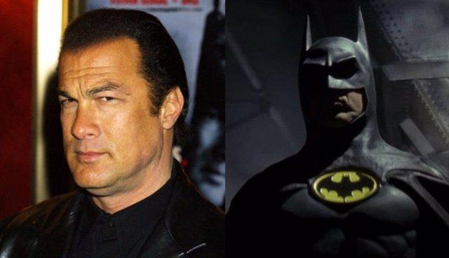 Steven Seagal, e imagen del Batman de Tim Burton