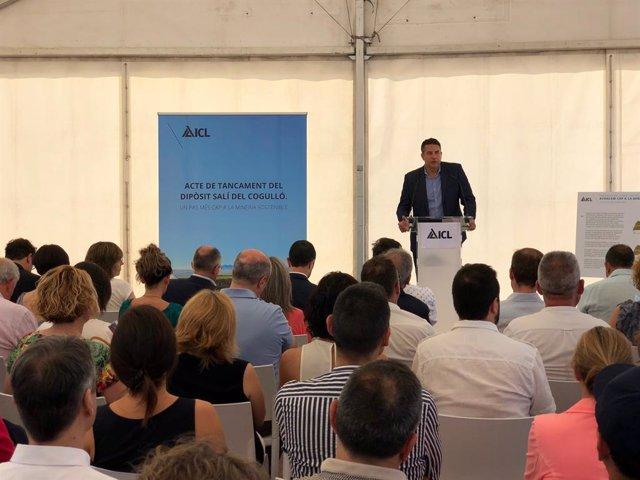 El conseller delegat d'ICL Iberia, Carles Aleman
