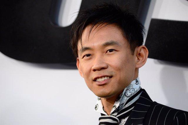 James Wan en la presentación mundial de Fast & Furious 7
