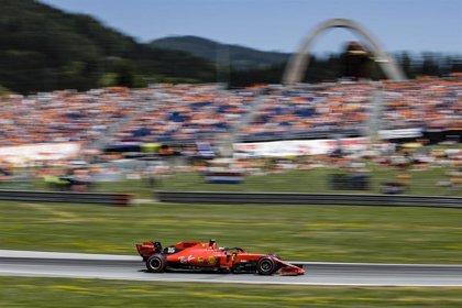 Leclerc consigue la 'pole' en Spielberg mientras Vettel se queda en el garaje