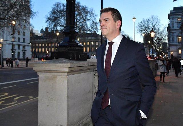 Olly Robbins, jefe negociador del Gobierno británico para el Brexit