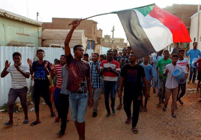 Protesta en Sudán