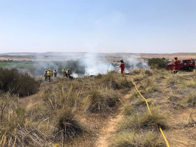 Incendio en Toledo que llega a Madrid