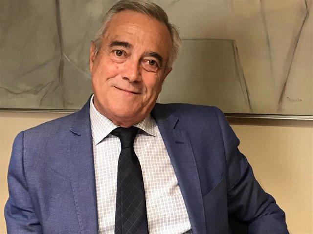 Javier Sada, presidente de las Cortes de Aragón