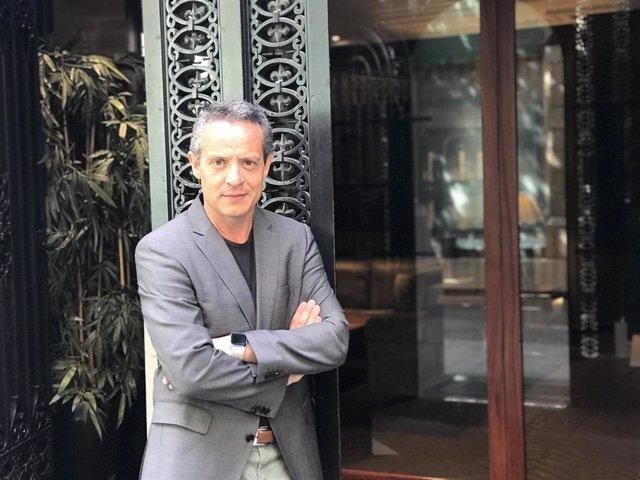 Daniel Venteo, director del ensayo 'Símbolos del catalanisme'