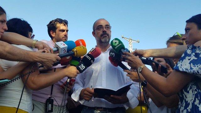 El conseller d'Interior de la Generalitat, Miquel Buch. FOTO D'ARXIU