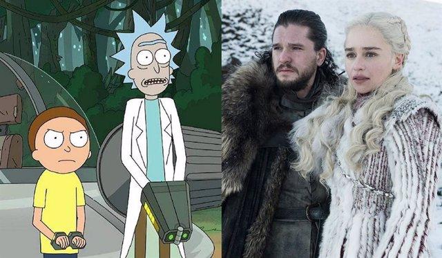 Rick y Morty y Juego de tronos