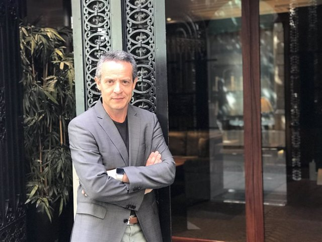 Daniel Venteo, director de l'assajo 'Símbols del catalanisme'