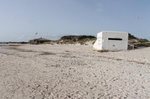 Imatge d'arxiu de la platja d'Es Trenc.