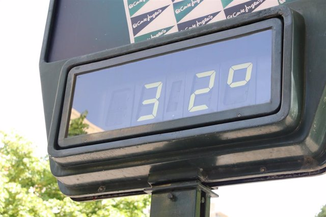 Aviso por altas temperaturas en Aragón.