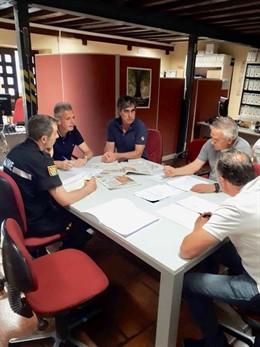 Reunión del CECOPI en la Delegación Territorial de la Junta en Ávila
