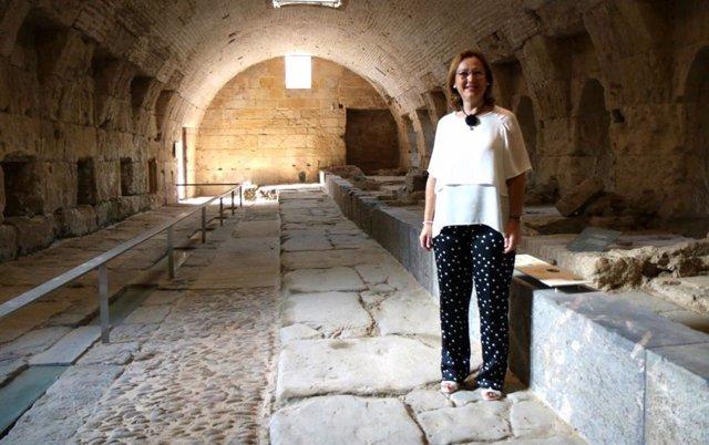 La teniente de alcalde de Casco Histórico y Patrimonio del Ayuntamiento de Córdoba, Laura Ruiz,
