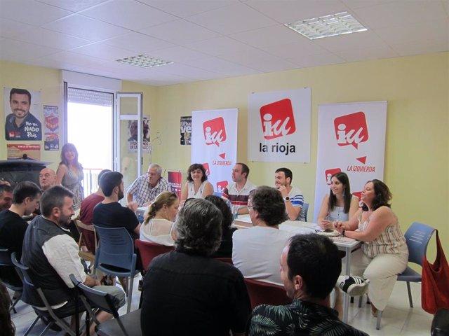 Coordinadora regional de IU La Rioja
