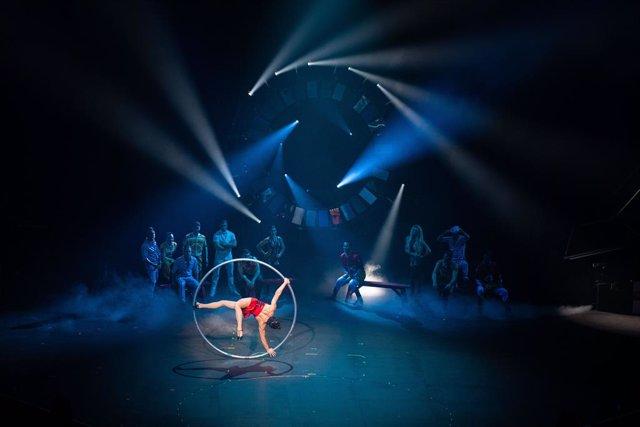 Un moment de 'Rebel', l'espectacle del Cirque du Soleil a Andorra, estrenat aquest dissabte