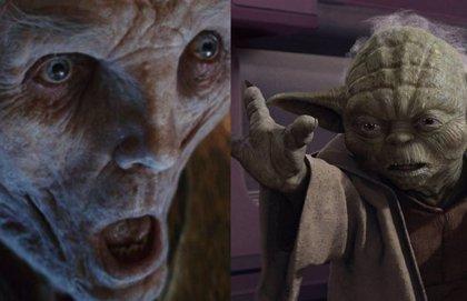 Star Wars: La conexión entre Yoda y el Líder Supremo Snoke