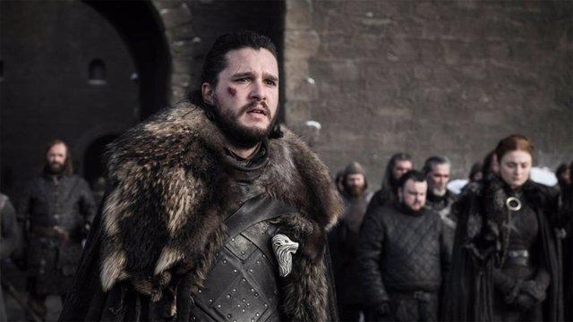 Jon Snow en la octava temporada de Juego de tronos