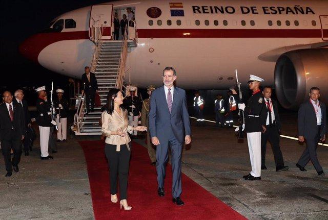 El Rey visita Panamá para asistir a la Conmemoración del V Centenario de la fundación de la Ciudad de Panamá