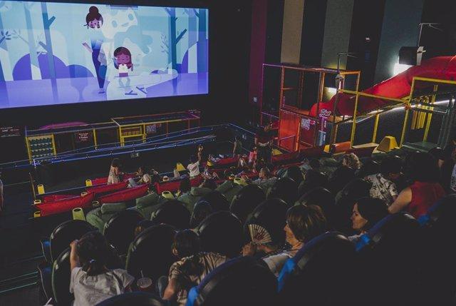 Imagen de la sala Junior de Yelmo Cines inaugurada en el centro comercial Artea de Leioa