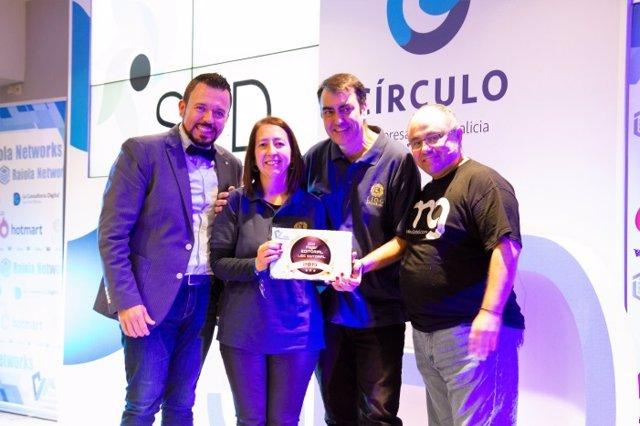 """LIOC Editorial recibe el premio a """"La Mejor Editorial de los Emprendedores"""""""