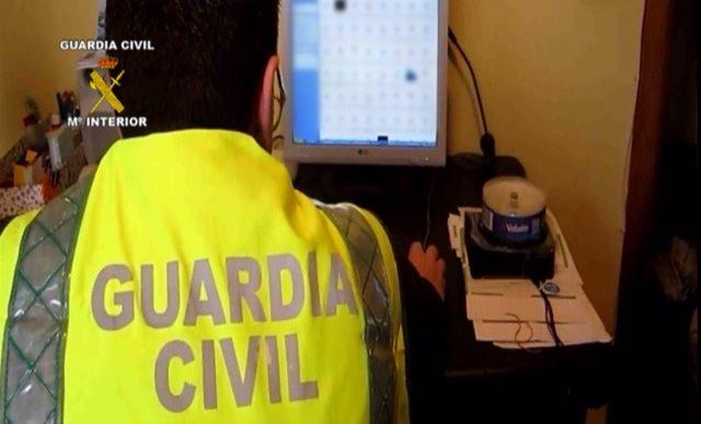 Operación Guardia Civil, pornografía infantil
