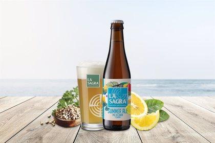 La Sagra lanza 'summer', la cerveza de verano tipo ale con piel de limón y semillas de cilantro
