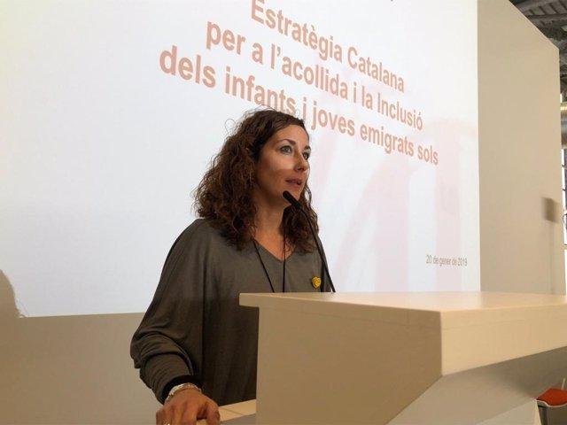La secretaria de Infancia y Adolescencia de la Generalitat, Georgina Oliva (archivo)