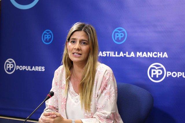 Gpp Clm (Fotografía Y Corte De Voz) Rueda De Prensa De Carolina Agudo. 010719