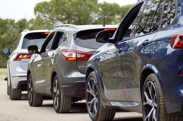 Recurs de cotxes en fila