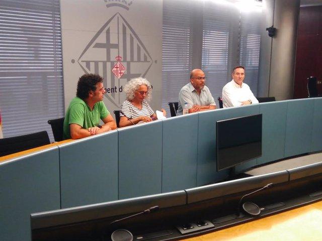 Miquel Àngel Essomba, Fran Viedma, Begoña Gasch y José María Usón