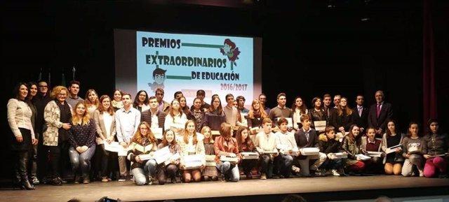 Entrega de los Premios Extraordinarios de Formación Profesional en Extremadura