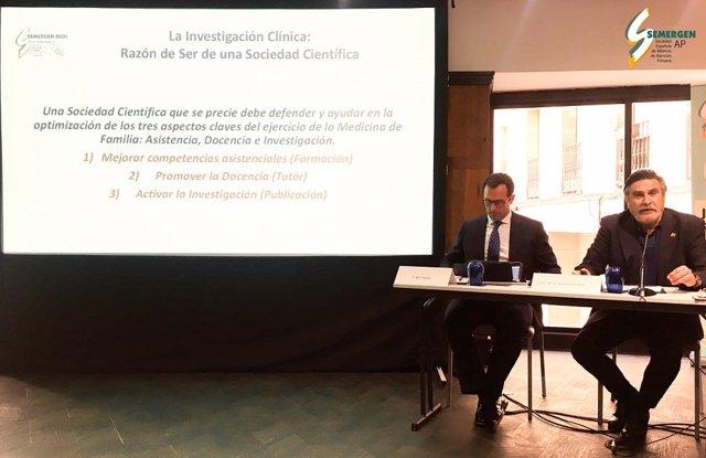 Reunión de la Sociedad Española de Médicos de Atención Primaria